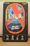 Carte Walibi The Battle Game - Wab Or Skunx ? - Carrefour - N° 73 - Trading Cards