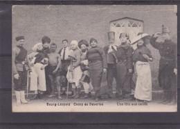 CP Bourg-Léopold.Une Fete Aux Carrés. - Leopoldsburg (Camp De Beverloo)