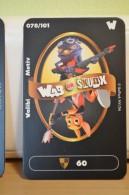 Carte Walibi The Battle Game - Wab Or Skunx ? - Carrefour - N° 78 Walibi Motiv - Trading Cards