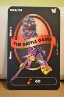 Carte Walibi The Battle Game - Wab Or Skunx ? - Carrefour - N° 84 Haaz Motiv - Trading Cards