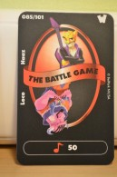 Carte Walibi The Battle Game - Wab Or Skunx ? - Carrefour - N° 85 Loco Haaz - Trading Cards