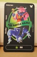 Carte Walibi The Battle Game - Wab Or Skunx ? - Carrefour - N° 88 Zenko Loco - Trading Cards