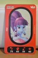 Carte Walibi The Battle Game - Wab Or Skunx ? - Carrefour - N° 90 Fibi - Trading Cards