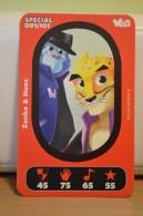 Carte Walibi The Battle Game - Wab Or Skunx ? - Carrefour - N° 91 Zenkoet Haaz - Trading Cards