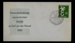 FDC  - EUROPA  CEPT  -  1958 -  GERMANY - 1958