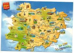 Lot Et Garonne (47)  Carte Du Dèpartement - Otros Municipios