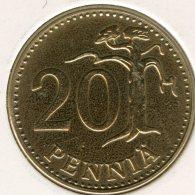Finlande Finland 20 Pennia 1963 S KM 47 - Finlande