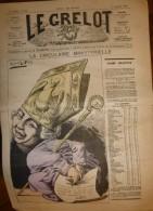 Journal Satirique - LE GRELOT - 1885 - La Circulaire Ministérielle, Illustration En Couleur D'Alfred Le Petit - Journaux - Quotidiens