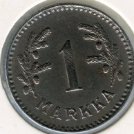 Finlande Finland 1 Markka 1949 H KM 30b - Finlande