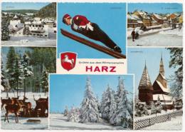 Harz - Mehrbildkarte 33 - Duitsland