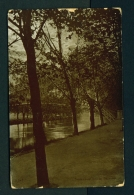 ENGLAND  -  Bedford  Suspension Bridge  Used Vintage Postcard As Scans - Bedford