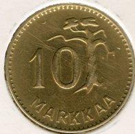Finlande Finland 10 Markkaa 1953 H KM 38 - Finlande