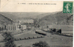 VIVIEZ - Vallée Du Rieu Mort Avec Ses Maisons Ouvrières  - Train (86492) - Altri Comuni
