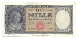 Italy 1000 Lire 11/2/1949 - 1000 Lire