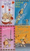 Joli Lot De 18 Cartes D'Invitation Différentes - Illustration -  Disney, Lucky Lucke, Peyo, Dupa, Donald, Flipper, Gathi - Seizoenen En Feesten