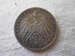 3 Mark Bayern 1912 - [ 2] 1871-1918 : German Empire