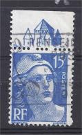 France - Carnets - Pub - Marianne Gandon 15 F Bleu - Yvert N° 886 - Type I - PROVINS - Oblitéré - Publicités