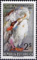 Austria 1967 - Swan, Painting By Oskar Kokoschka ( Mi 1240 - YT 1074 ) MNH** - Cygnes