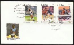Cuba Habana 1983 / Olympic Games Los Angeles 1984 / Athletics, Volleyball, Boxing - Summer 1984: Los Angeles