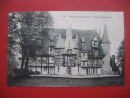 """CPA      Eure  - Louviers   """"  Environs De Louviers  - Château Saint-Hilaire  """"  TBE - Louviers"""