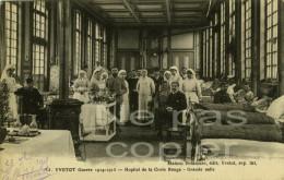 YVETOT Hopital Correspondance D'un Blessé 1915 Seine-Maritime 76 - Guerre 1914-18