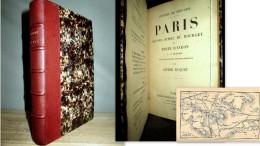 PARIS (SECOND ECHEC Du BOURGET Et PERTE D´AVRON) DUQUET Guerre War Krieg 1870 Reliure Cuir 1ère Edition 1896 ! - Historia