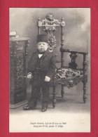 CPA CIRQUE PHENOMENE TURQUIE - HAYATI HASSID AGE DE 55 ANS HOMME LE PLUS PETIT AU MONDE LILIPUTIEN NAIN 1906 - Circo