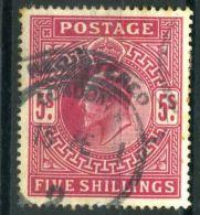 GRANDE-BRETAGNE ( POSTE ) : Y&T  N°  119  TIMBRE  OBLITERE , A  VOIR .