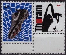 Lilian Thuram - NIKE Ad. - Soccer Football / World Championship FIFA Cup 1998 France / Cinderella Label Vignette - 1998 – France