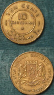 M_p> Somalia 10 Centesimi 1967 - Somalia