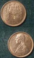 M_p> Monaco 10 Franchi 1946 - 1922-1949 Luigi II