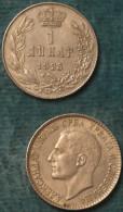 M_p> Serbia 1 Dinar 1925 - Serbia