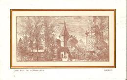 SOMBREFFE (5140) : Le Château. CPA. - Sombreffe