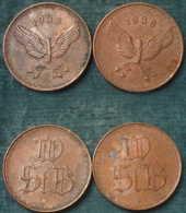 M_p> Lotto Gettoni 2 Pezzi, 1938 , Peso Tot. 8,5 Grammi,simbolo Ruota Alata,penso Tedeschi - Monetari / Di Necessità