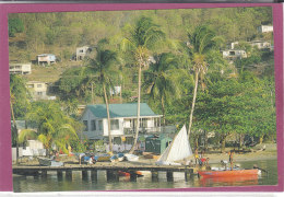 VILLAGE SCENE .- ST-VINCENT AND THE GRENADINE - Saint Vincent E Grenadine