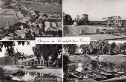 Bonjour De MONSDORF LES BAINS (Luxemburg), Gel., 2 Fach Frankiert - Liechtenstein