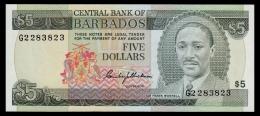 Barbados 5 Dollars 1975 P.32 UNC - Barbados