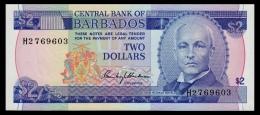 Barbados 2 Dollars 1980 P.30 UNC - Barbados