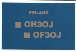 CARTE QSL DE TERTTILÂ FINLANDE 1987 - Radio-amateur