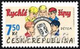 Czech Republic - 2007 - For Children - The Fast Arrows By Jaroslav Foglar - Mint Stamp - Ongebruikt