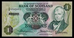 Scotland 1 Pound 1972 UNC - 1 Pond