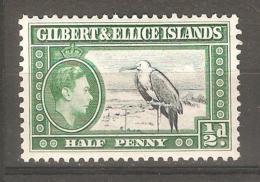 Sello Nº 38 Gilbert Y Ellice - Birds