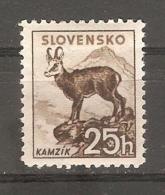 Sello  Nº 42 Eslovaquia - Animalez De Caza