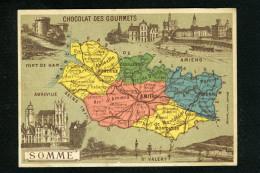 Chocolat Café Des Gourmets Départements Somme Amiens Abbeville Montdidier Doullens Péronne 11 317 - Cioccolato