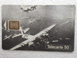 TELECARTE 50 - 50ème Anniversaire Des Débarquements Et De La Libération De La France 1944 1994 US AIR FORCE B26 Aviation - Armée