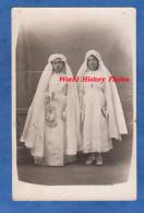 CPA Photo - Portrait De Jeune Fille Lors De Leur Communion - Simone SALVAYA - Robe Costume Blanc White Dress Mode Girl - Non Classés