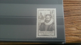 LOT 239733 TIMBRE DE FRANCE NEUF** LUXE N°754 - Unused Stamps