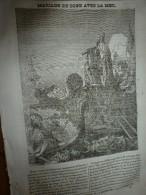 1834 LM : Mariage Du DOGE Avec La MER à Venise; ALBATROS; Temple De Tritchengour; Marchande Gâteau En CHINE; Londres - Vieux Papiers