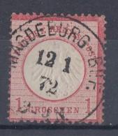 DR Minr.4 Gestempelt Magdeburg-Bhf. 12.1.72 - Deutschland