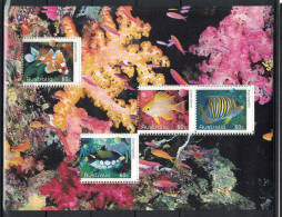 Australia. 2010. Fish. MNH Sheet Of 4. Scott Not Listed - Vissen